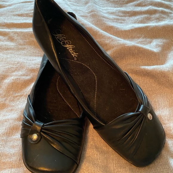 Life Stride Shoes - Lifestride black womens flat